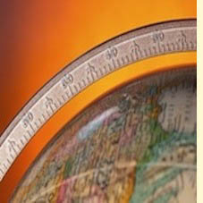 partial image of globe