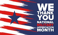 National Military Appreciation Month Image