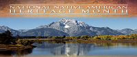 Mountain Scene for National Native American Heritage Month
