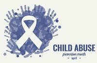 National Child Abuse Prevention Month banner
