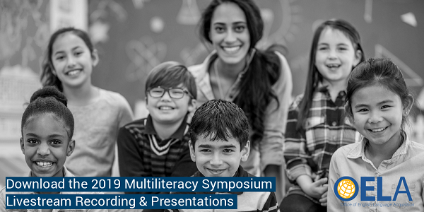 Banner for May Multiliteracy Symposium