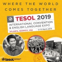 TESOL 2019 banner, Where The World Comes Together