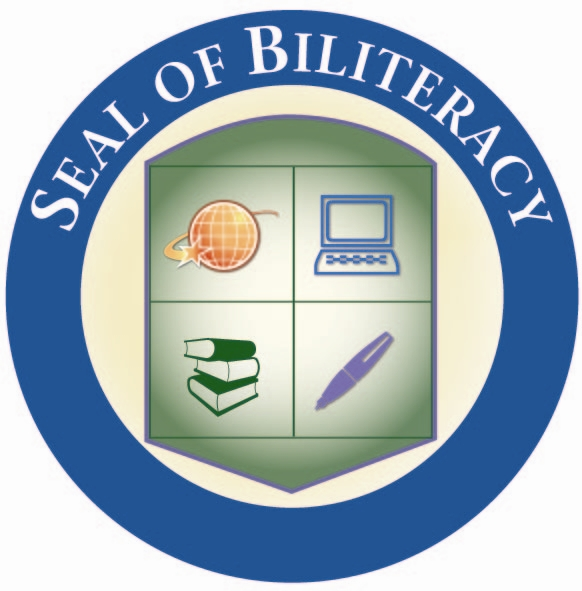 Image of the SEAL of Biliteracy