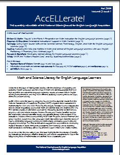 front page of accellerate issue