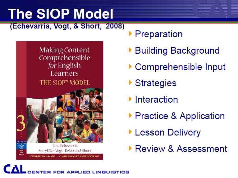SIOP Model image