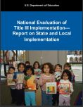 cover image of Report on State and Local Implementation